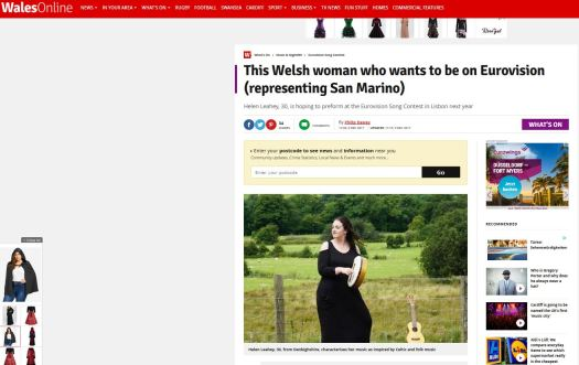 Wales Online Article