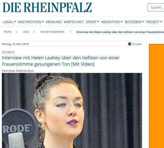 Die Rheinland PFalz Artikel