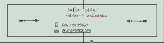 Julia Gruen Visitenkarte
