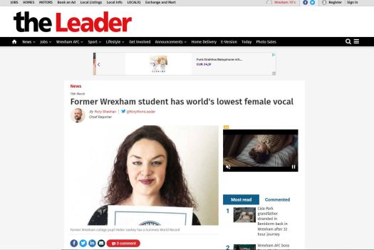 The Leader Article